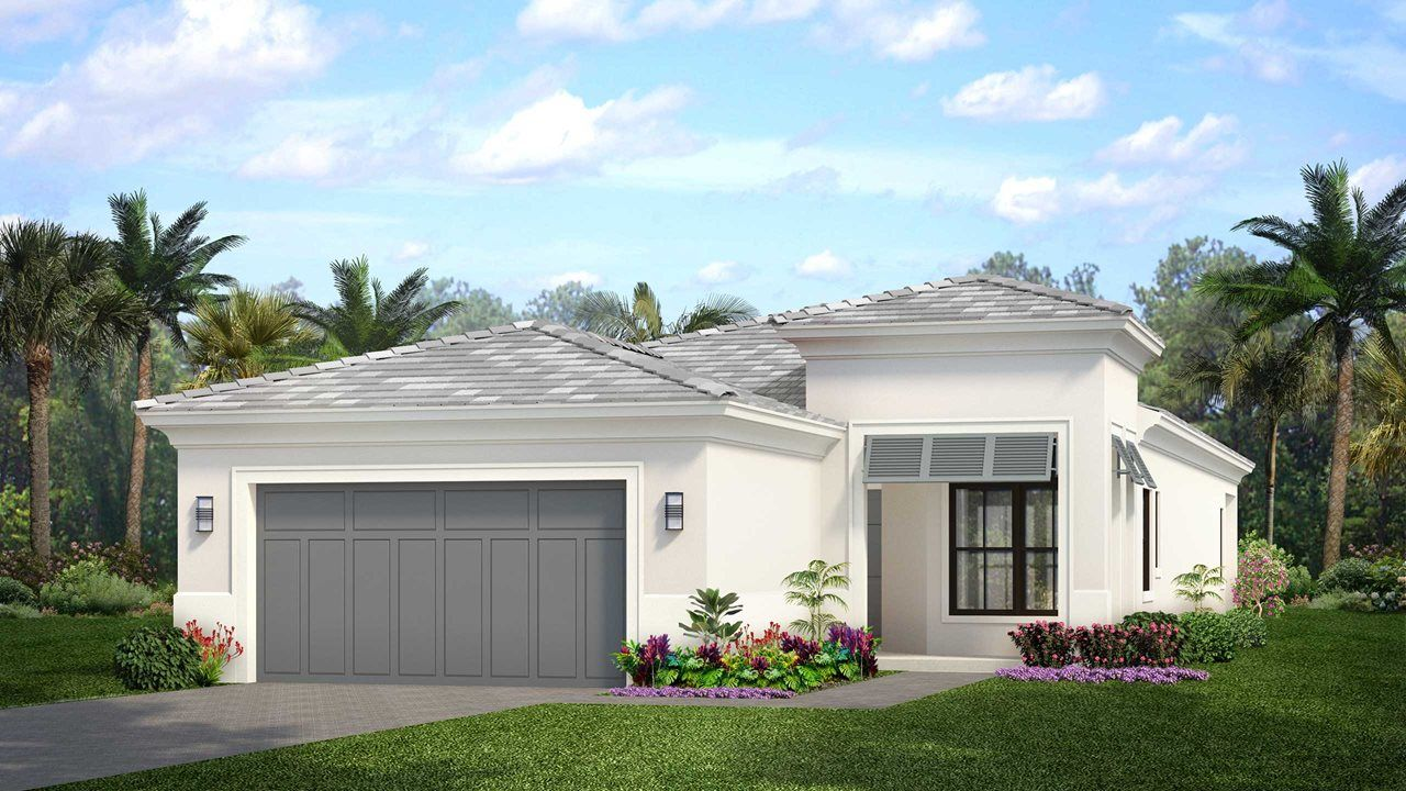 Exterior featured in the Degas By Kolter Homes in Palm Beach County, FL