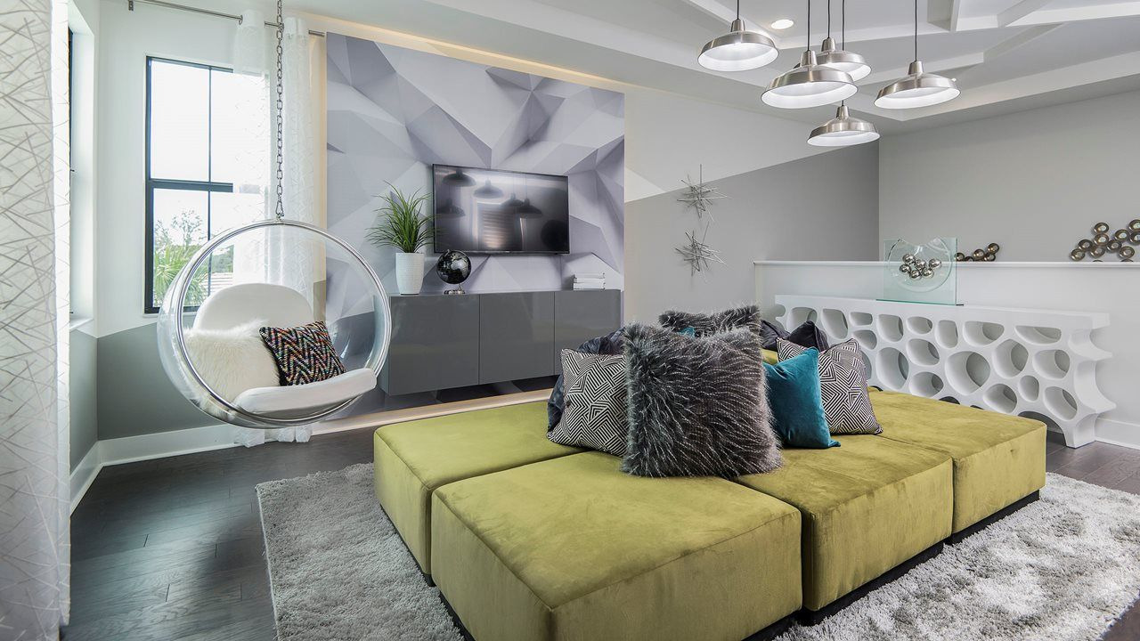 Living Area featured in the Hudson By Kolter Homes in Palm Beach County, FL