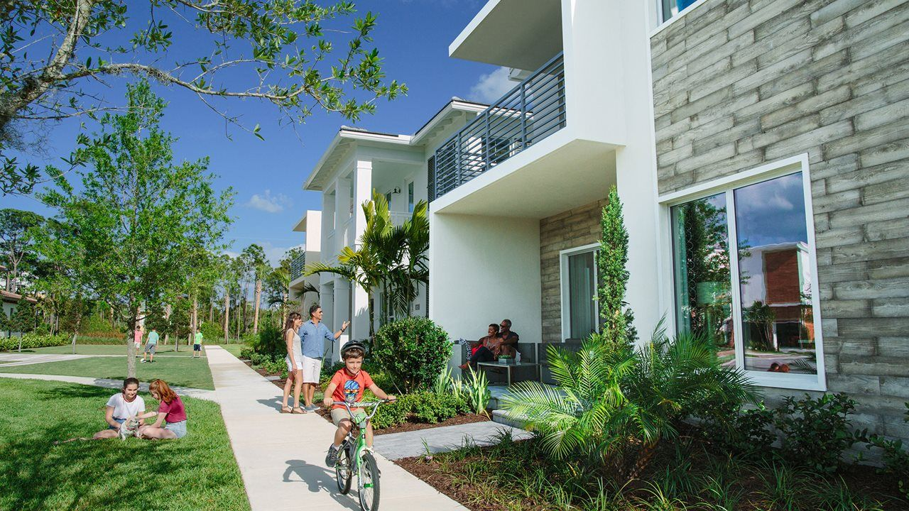 Exterior featured in the Durham By Kolter Homes in Palm Beach County, FL