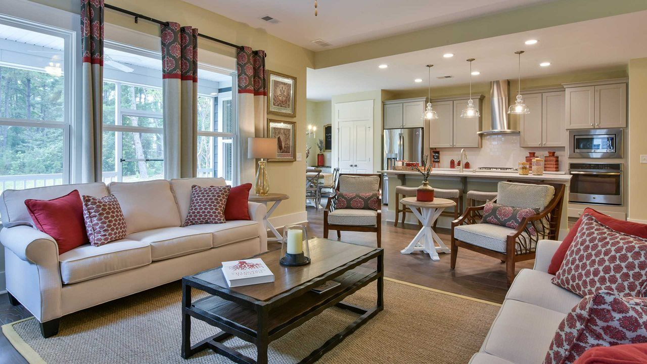 Living Area featured in the Oakside By Kolter Homes in Charleston, SC