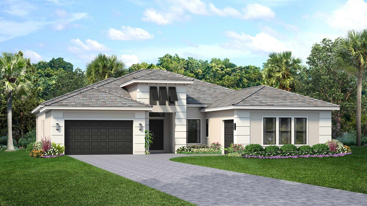 Exterior featured in the Whitaker By Kolter Homes in Sarasota-Bradenton, FL