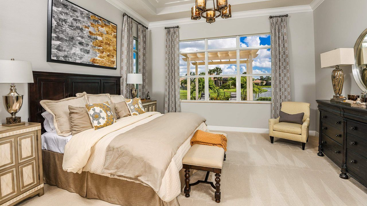 Bedroom featured in the Alessa By Kolter Homes in Martin-St. Lucie-Okeechobee Counties, FL