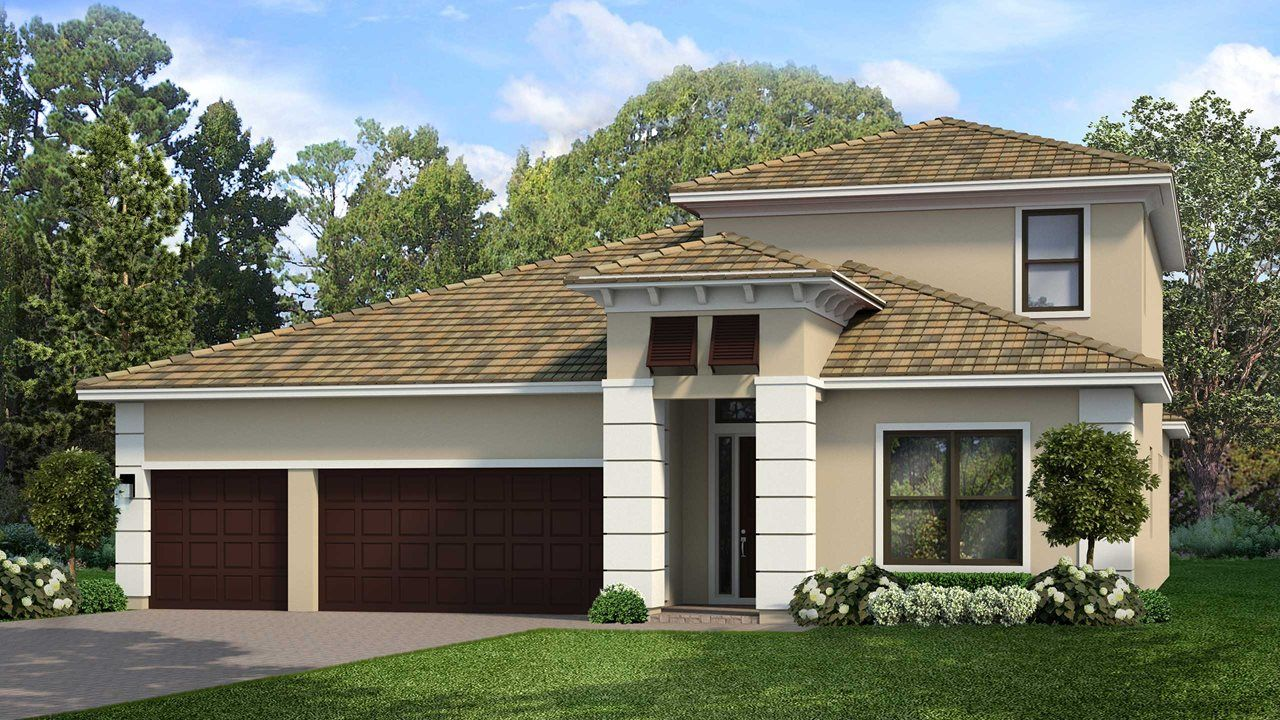 Exterior featured in the Alys with Bonus By Kolter Homes in Sarasota-Bradenton, FL