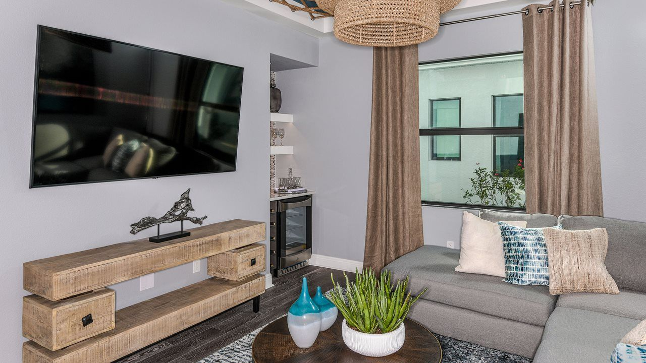 Living Area featured in the Alys with Bonus By Kolter Homes in Sarasota-Bradenton, FL
