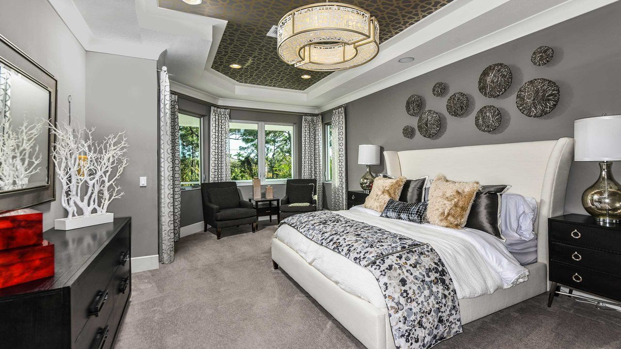 Bedroom featured in the Plymouth By Kolter Homes in Palm Beach County, FL