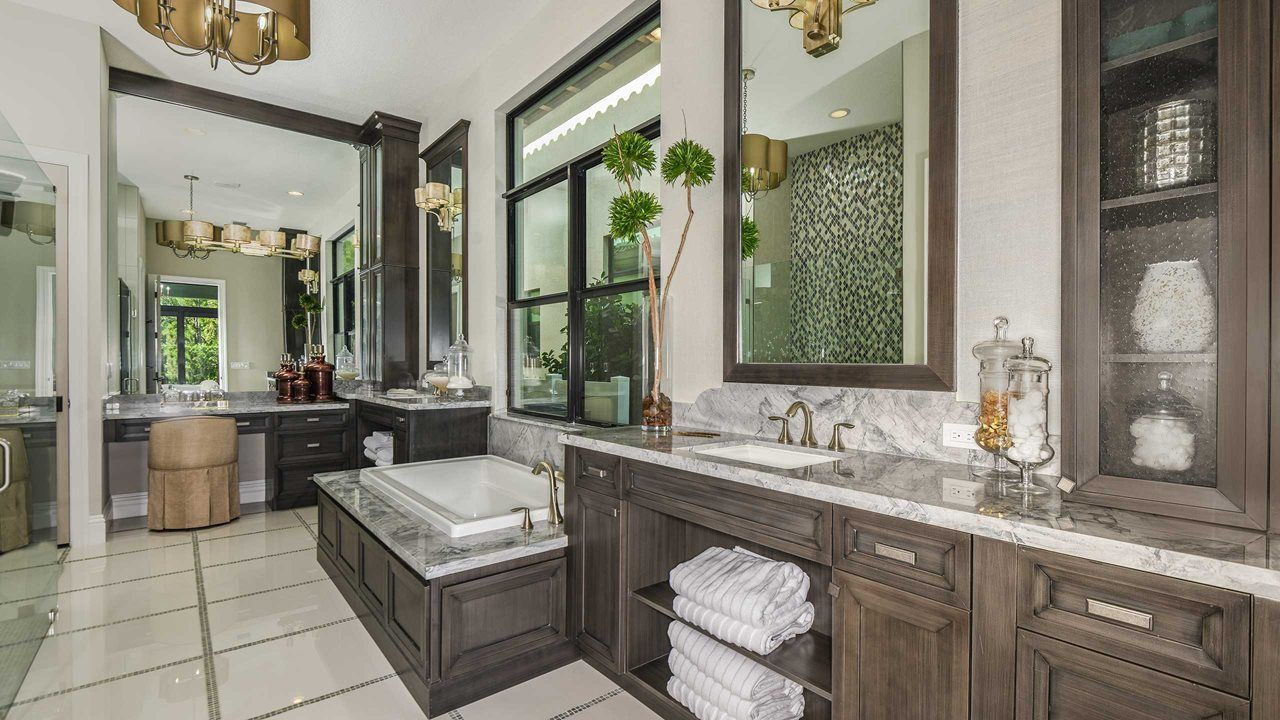 Bathroom featured in the York By Kolter Homes in Palm Beach County, FL