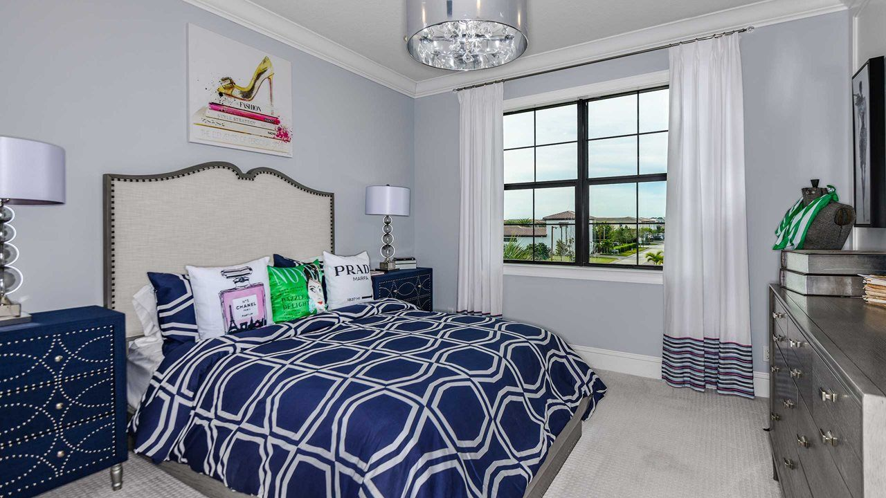 Bedroom featured in the York By Kolter Homes in Palm Beach County, FL