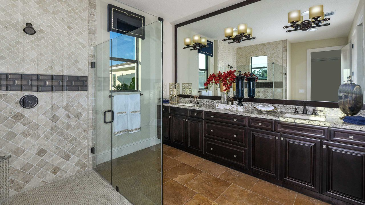 Bathroom featured in the Derby By Kolter Homes in Palm Beach County, FL