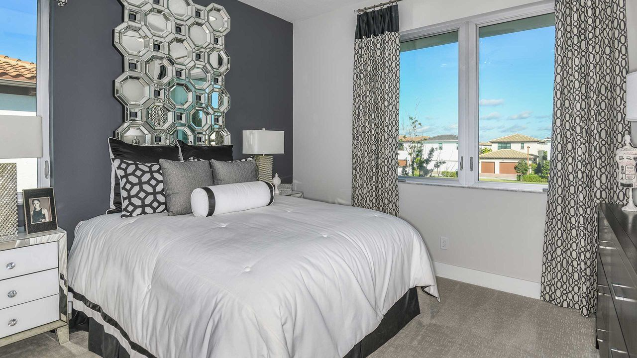 Bedroom featured in the Exeter By Kolter Homes in Palm Beach County, FL