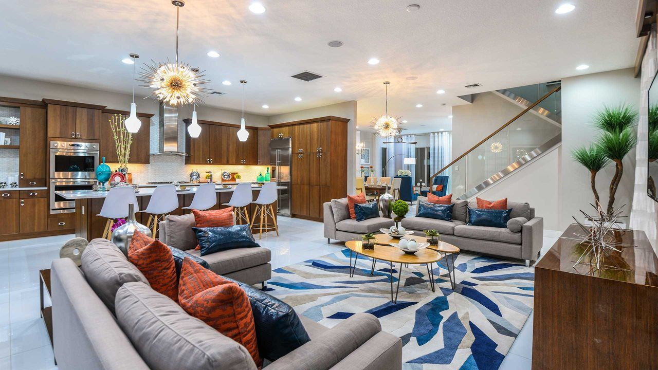 Living Area featured in the Manchester By Kolter Homes in Palm Beach County, FL