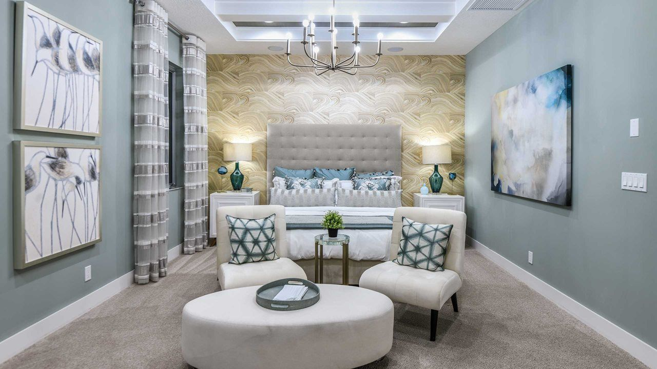 Bedroom featured in the Park E By Kolter Homes in Palm Beach County, FL
