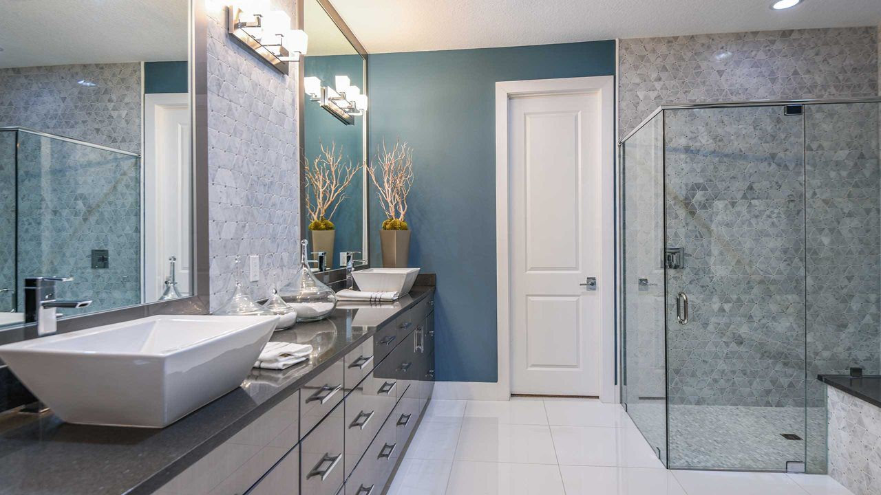 Bathroom featured in the Park E By Kolter Homes in Palm Beach County, FL