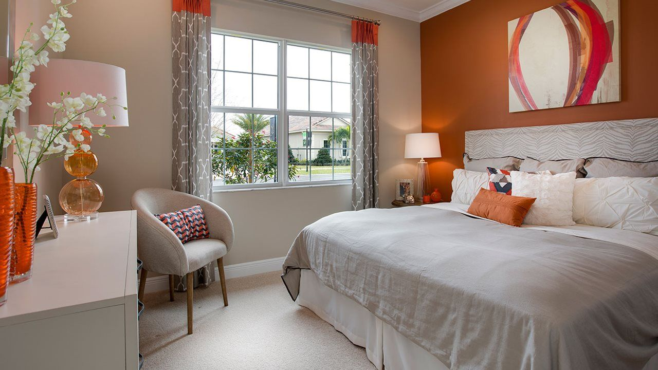 Bedroom featured in the Lago By Kolter Homes in Martin-St. Lucie-Okeechobee Counties, FL