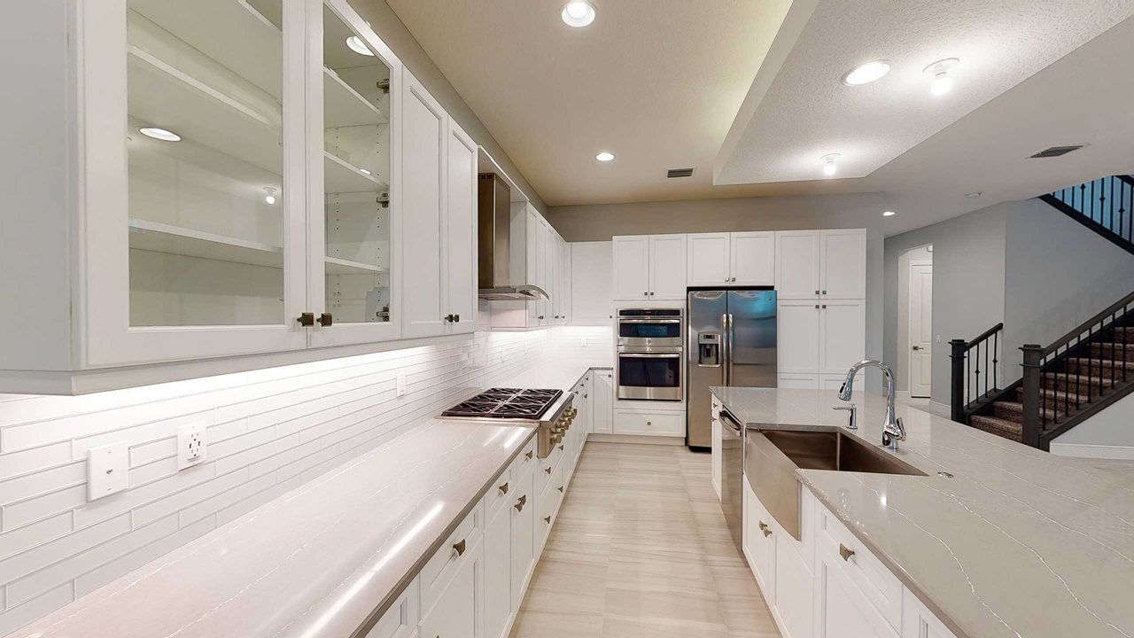 Kitchen featured in the Durham By Kolter Homes in Palm Beach County, FL