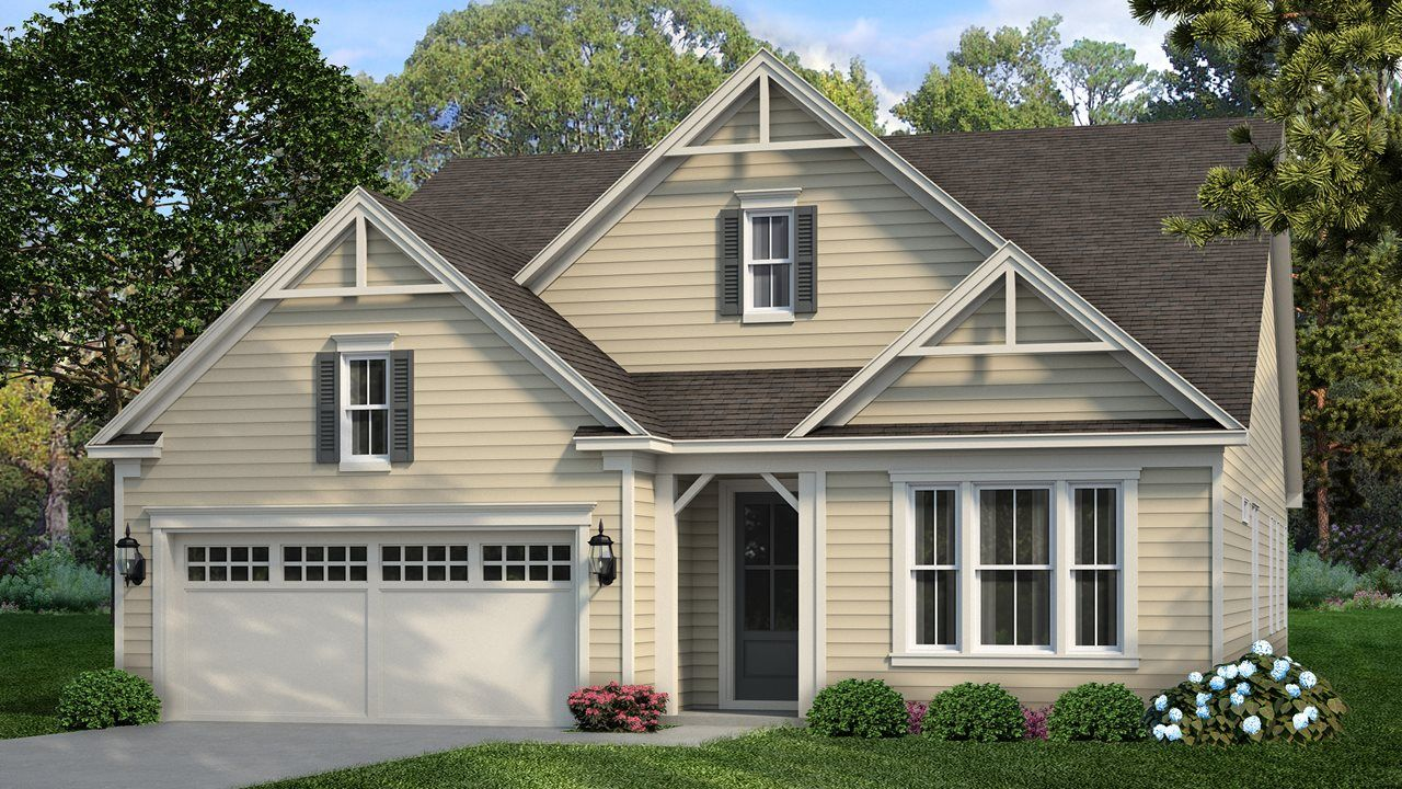 Exterior featured in the Fir By Kolter Homes in Atlanta, GA