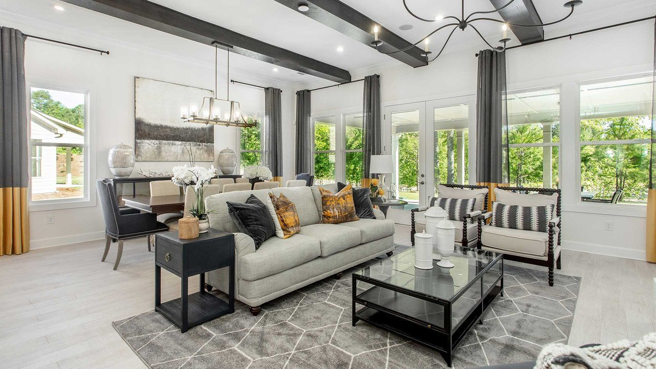 Living Area featured in the Fir By Kolter Homes in Atlanta, GA