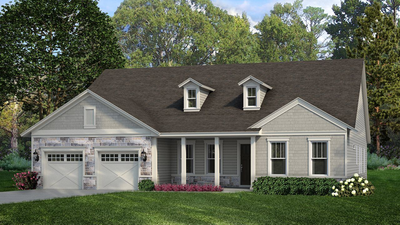 Exterior featured in the Spruce By Kolter Homes in Atlanta, GA