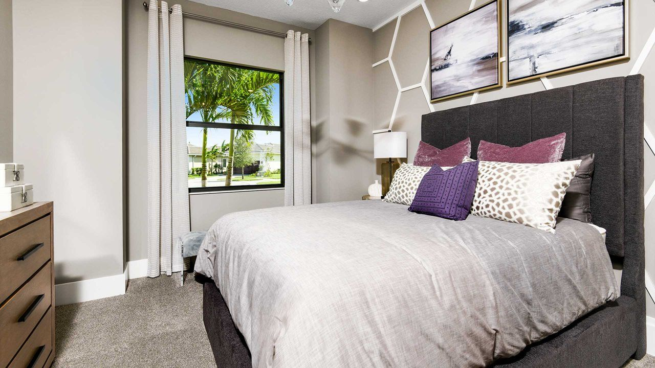 Bedroom featured in the Dania By Kolter Homes in Palm Beach County, FL