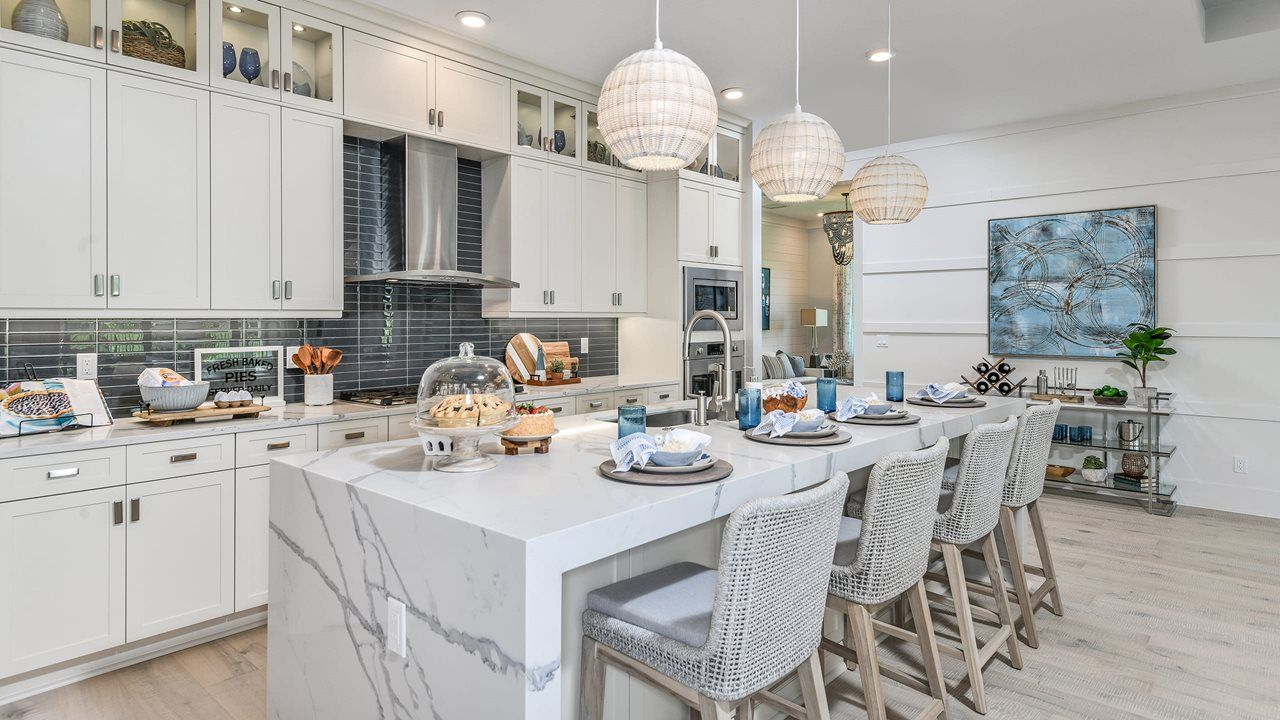 Kitchen featured in the Fiesta By Kolter Homes in Palm Beach County, FL