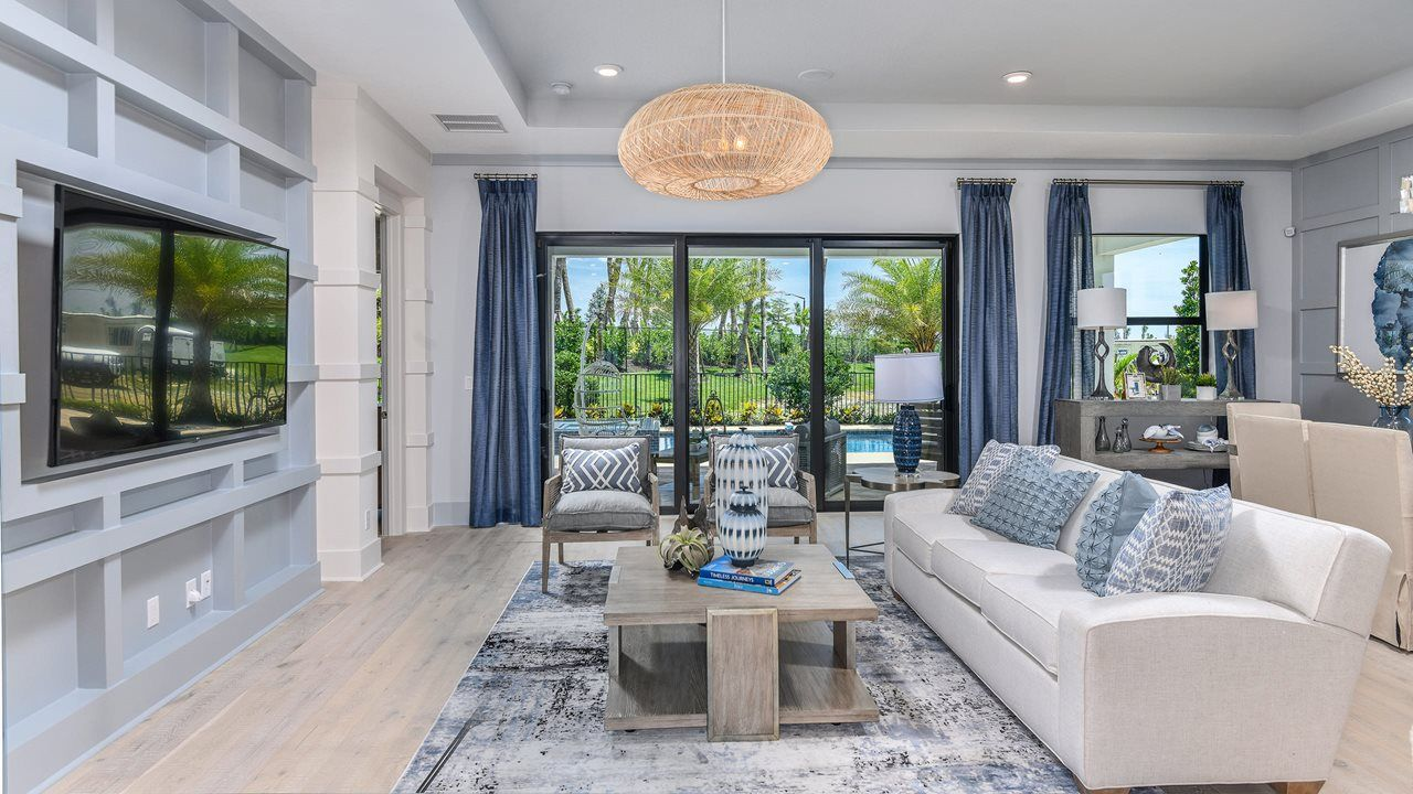 Living Area featured in the Fiesta By Kolter Homes in Palm Beach County, FL