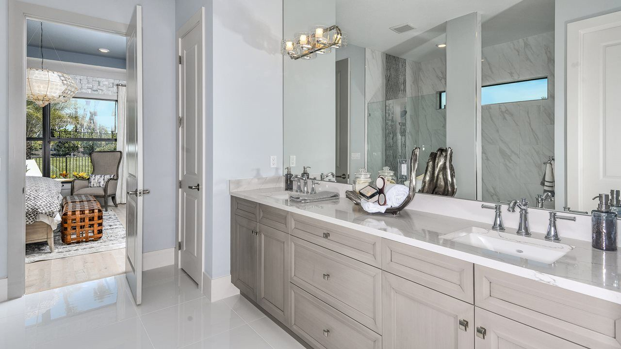 Bathroom featured in the Fiesta By Kolter Homes in Palm Beach County, FL