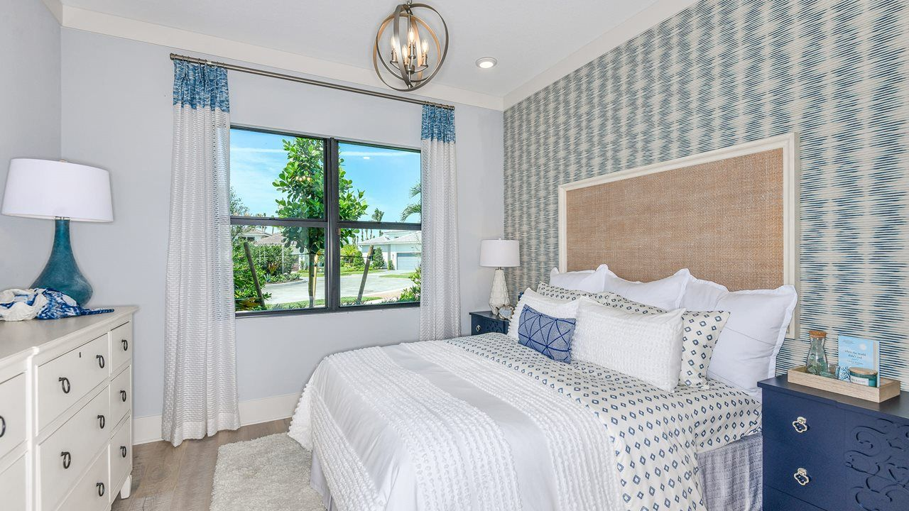 Bedroom featured in the Fiesta By Kolter Homes in Palm Beach County, FL