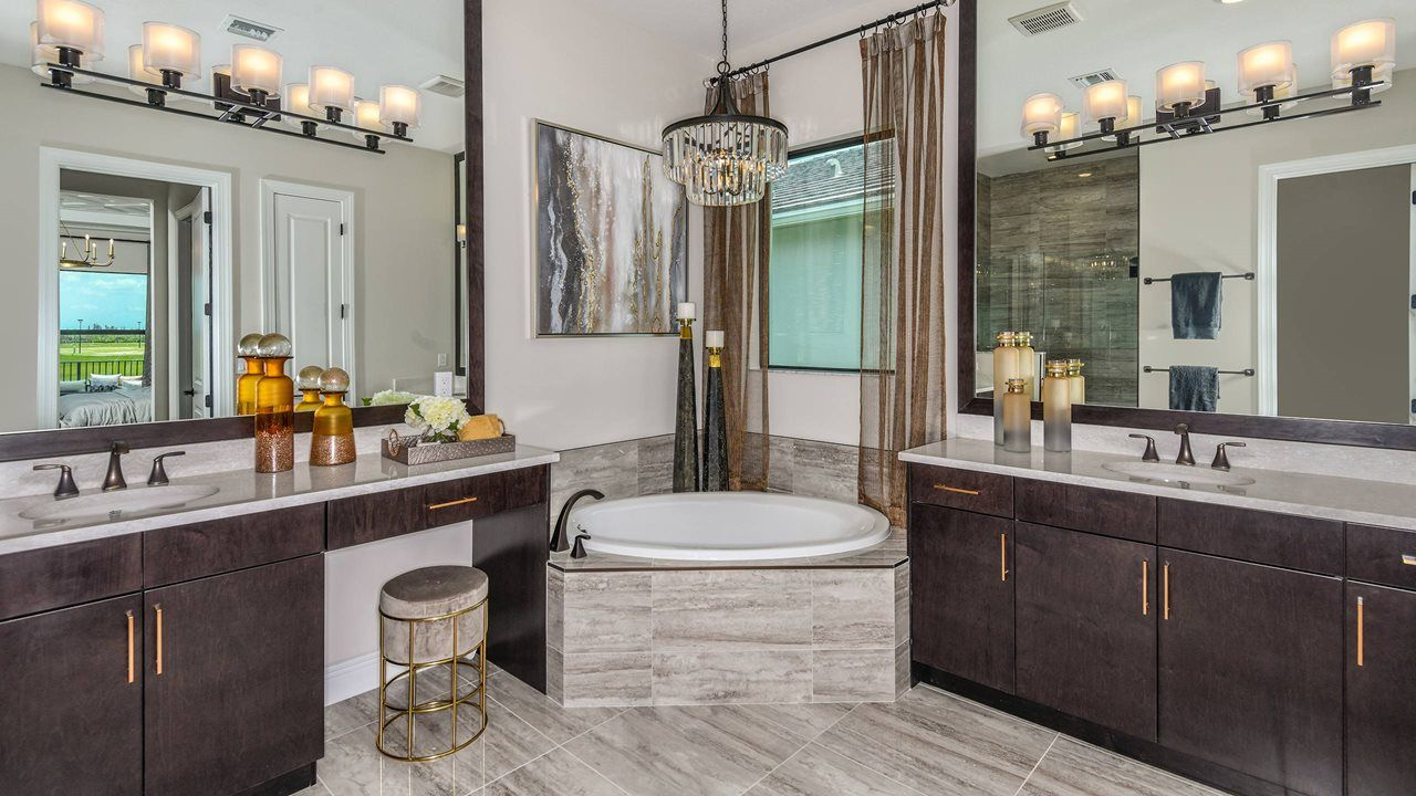 Bathroom featured in the Rosemary By Kolter Homes in Palm Beach County, FL