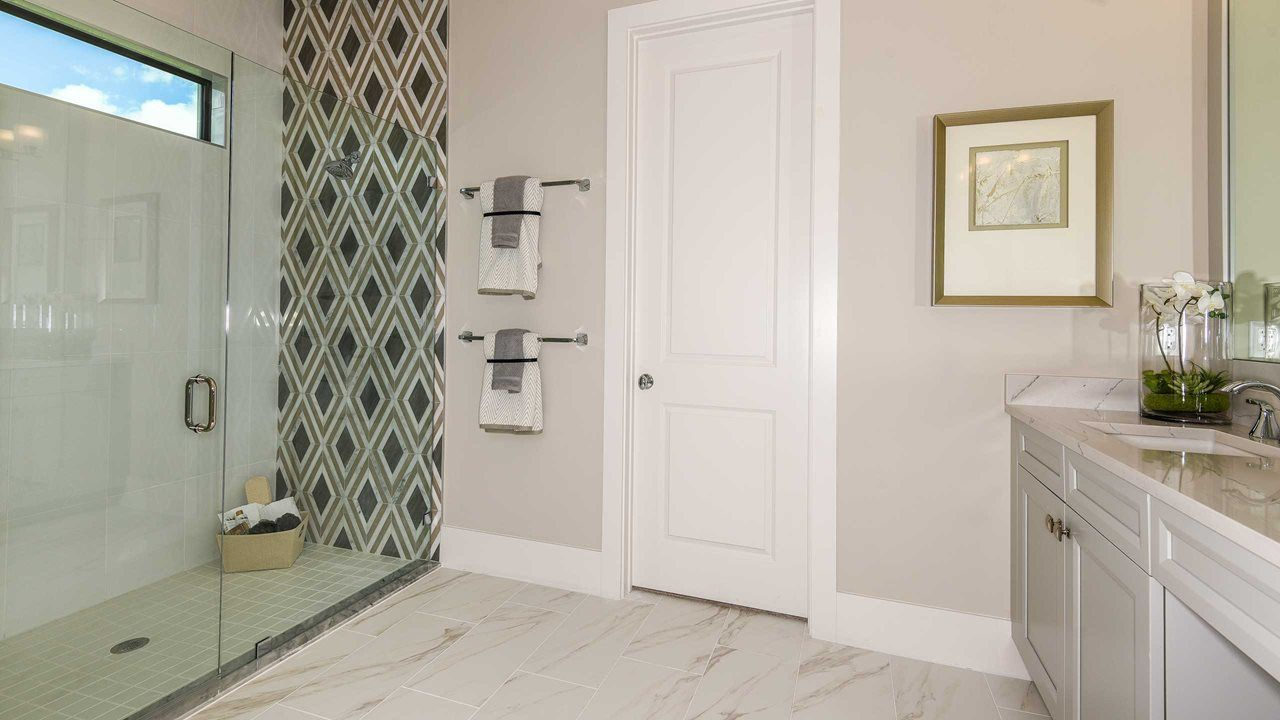 Bathroom featured in the Summerland By Kolter Homes in Palm Beach County, FL