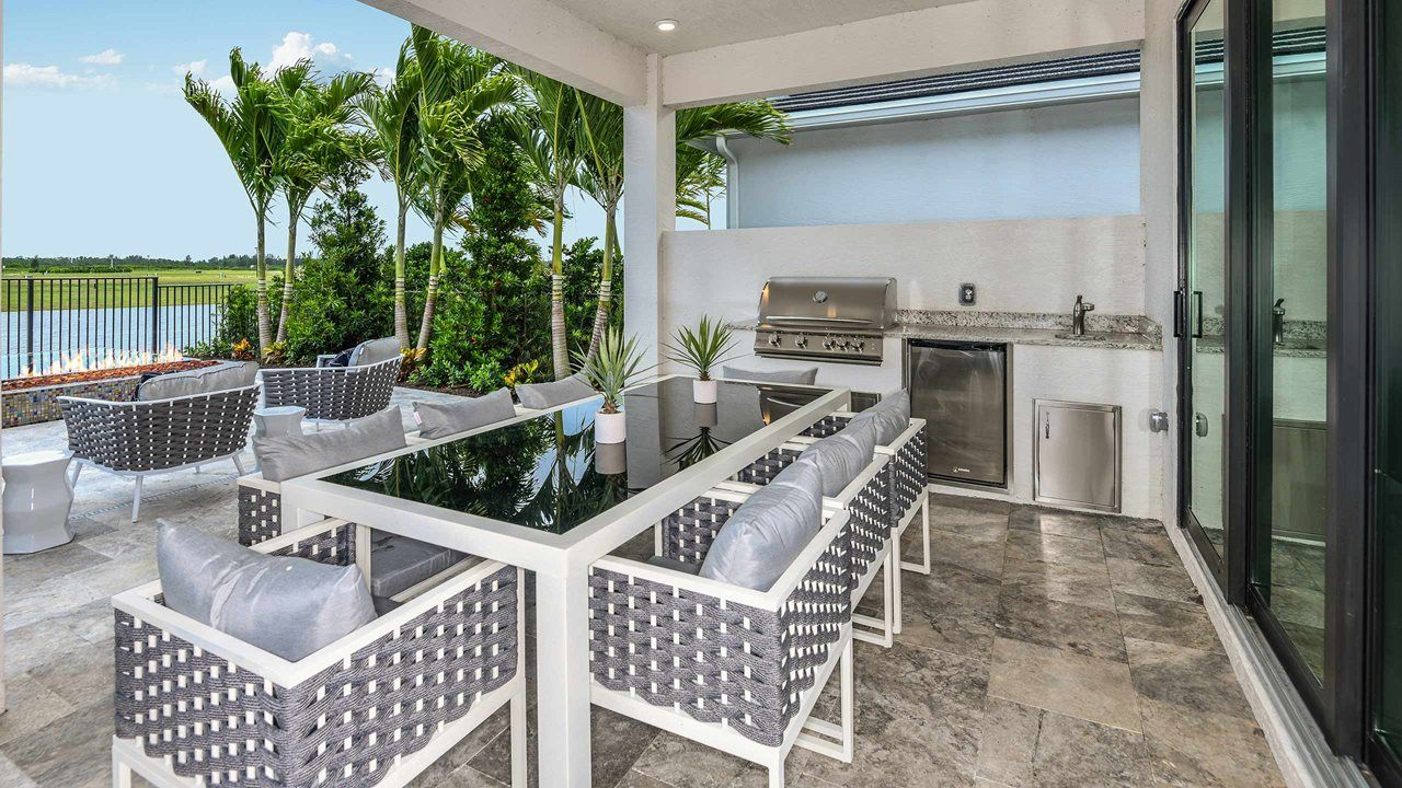 Exterior featured in the Vilano By Kolter Homes in Palm Beach County, FL