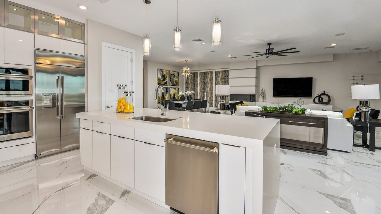 Kitchen featured in the Vilano By Kolter Homes in Palm Beach County, FL