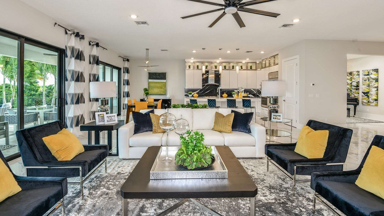 Living Area featured in the Vilano By Kolter Homes in Palm Beach County, FL