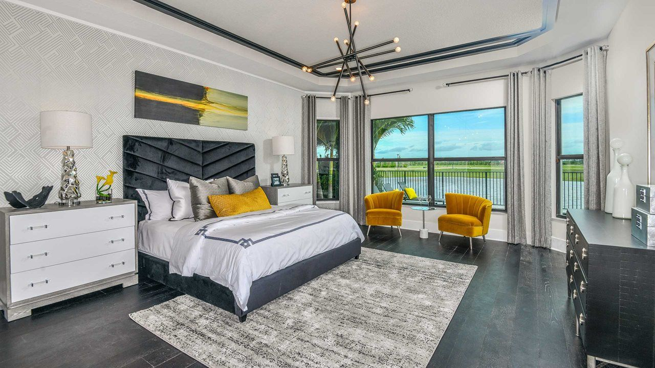 Bedroom featured in the Vilano By Kolter Homes in Palm Beach County, FL