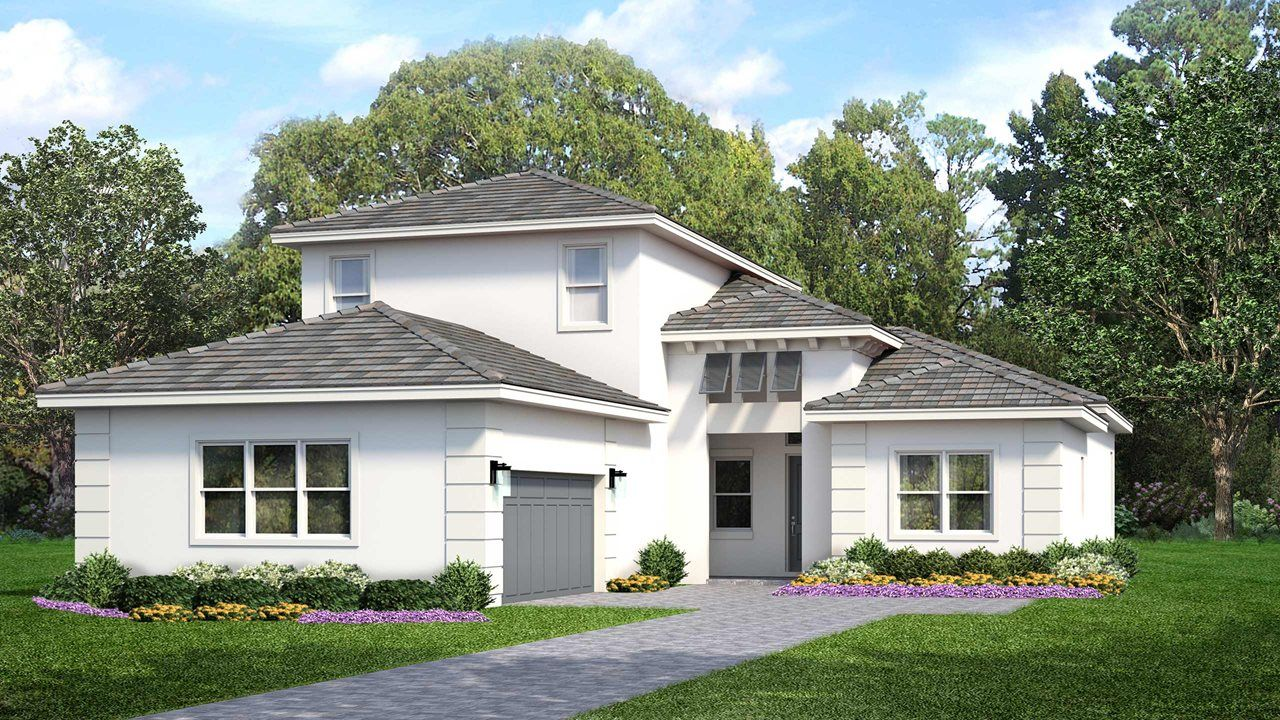 Exterior featured in the Dulce with Bonus By Kolter Homes