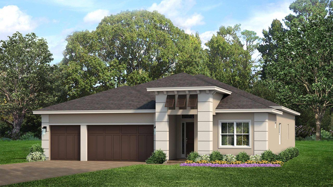 Exterior featured in the Levanzo By Kolter Homes in Martin-St. Lucie-Okeechobee Counties, FL