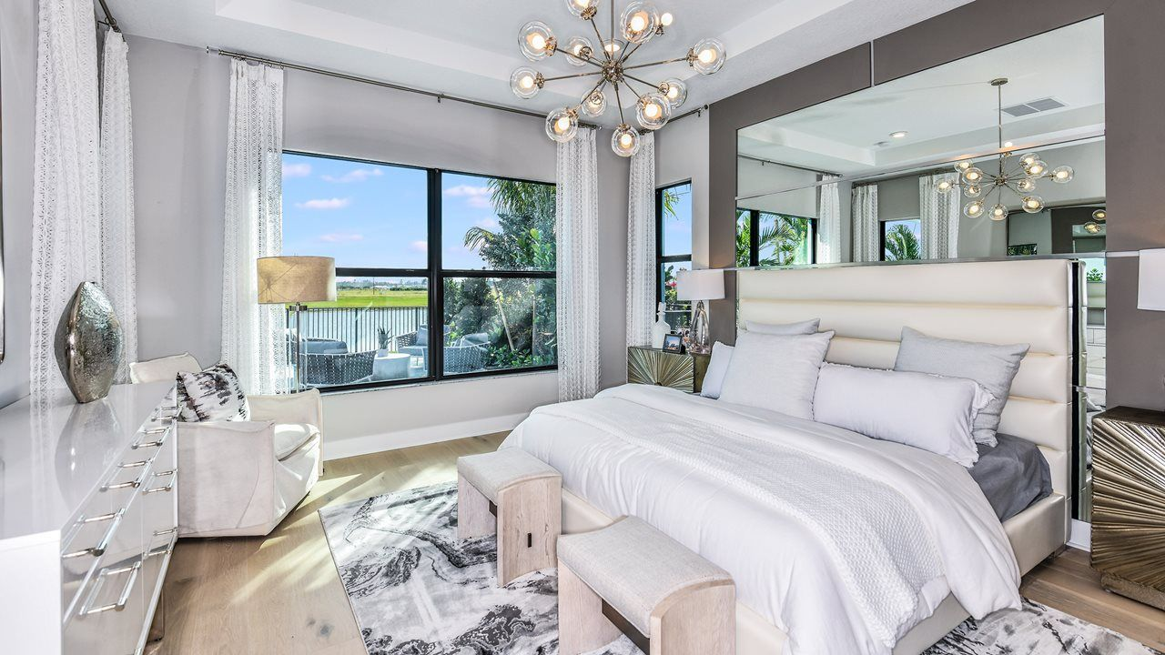 Bedroom featured in the Alys By Kolter Homes in Palm Beach County, FL