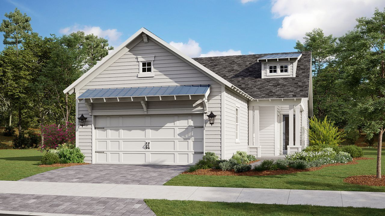 Exterior featured in the Amelia By Kolter Homes in Panama City, FL