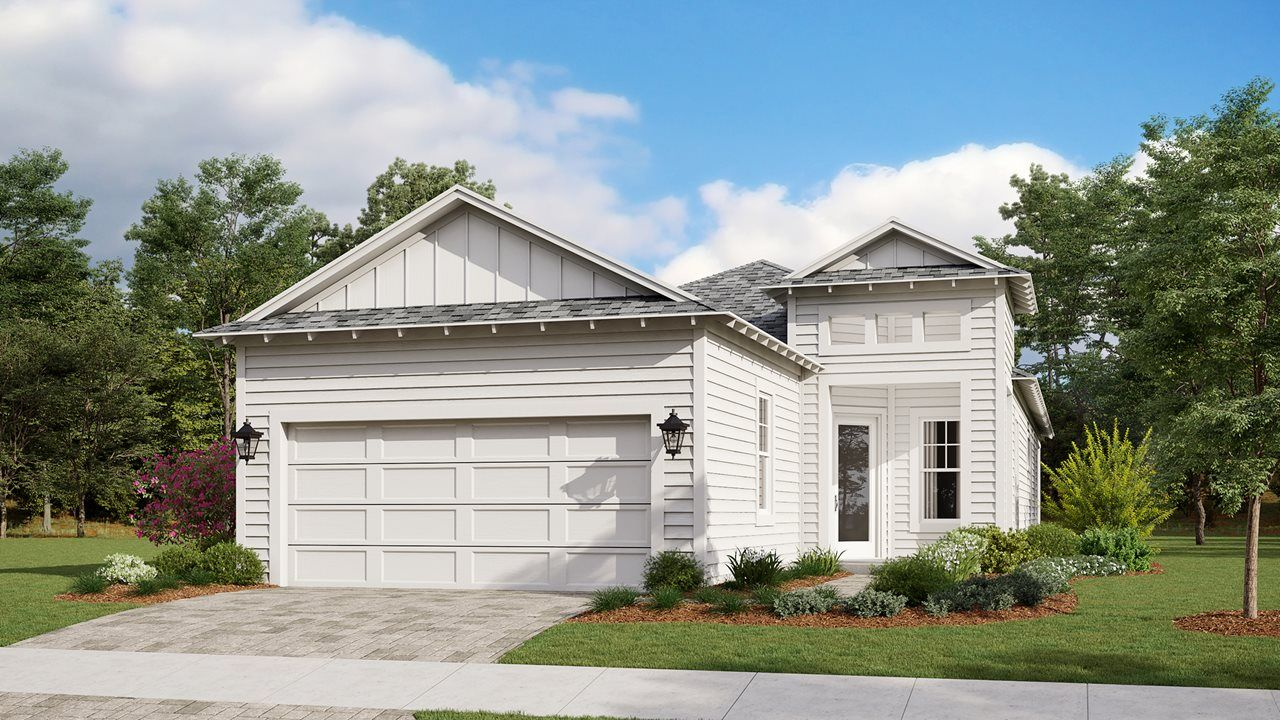 Exterior featured in the Bonita By Kolter Homes in Panama City, FL