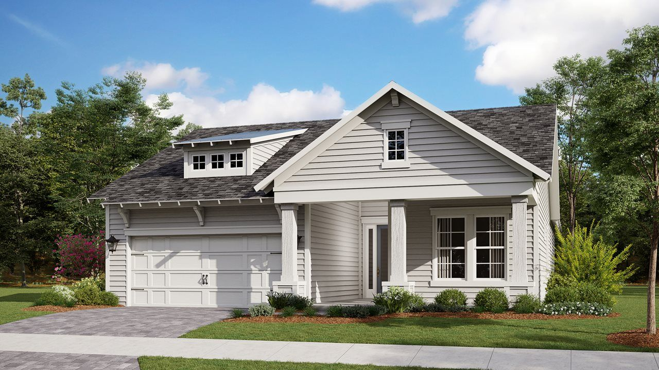 Exterior featured in the Highland By Kolter Homes in Panama City, FL