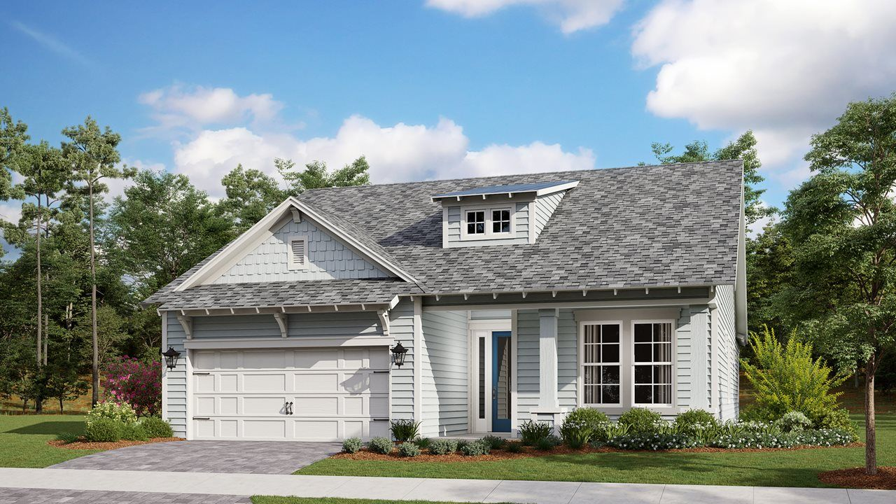 Exterior featured in the Laredo By Kolter Homes in Panama City, FL