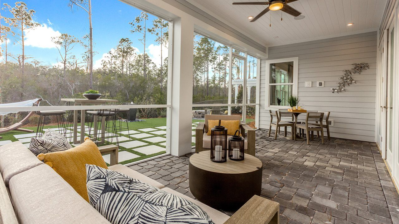Exterior featured in the Marco By Kolter Homes in Panama City, FL