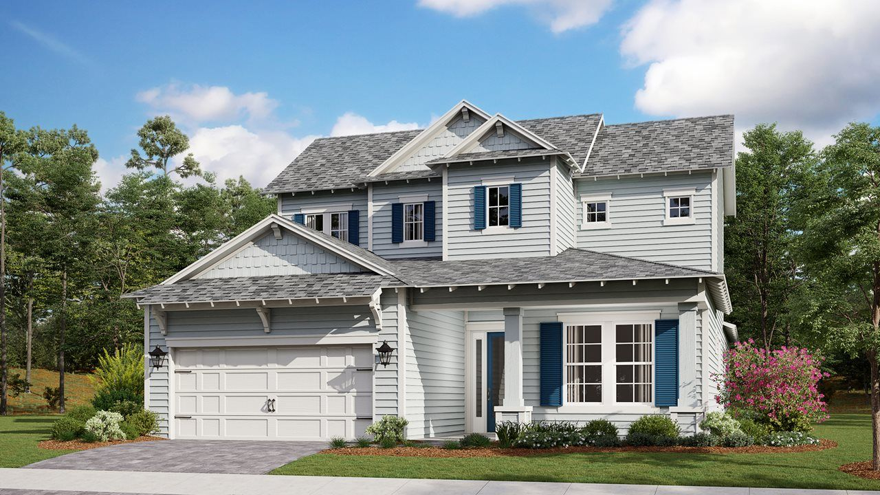 Exterior featured in the Orchid By Kolter Homes in Panama City, FL