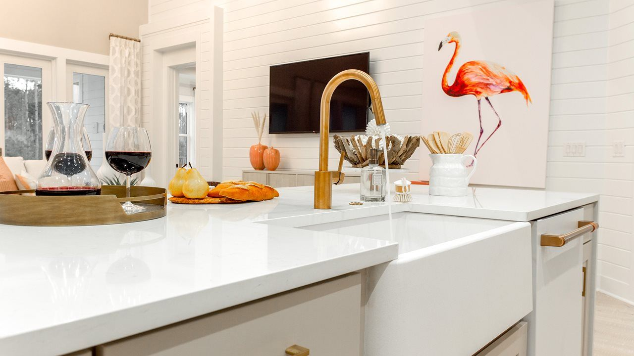 Kitchen featured in the Orchid By Kolter Homes in Panama City, FL