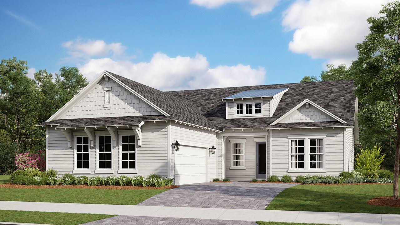 Exterior featured in the Redington By Kolter Homes in Panama City, FL