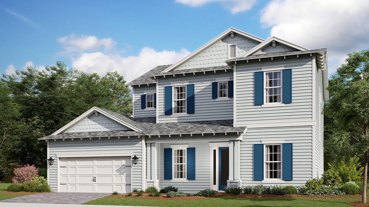 Exterior featured in the Seacrest By Kolter Homes in Panama City, FL