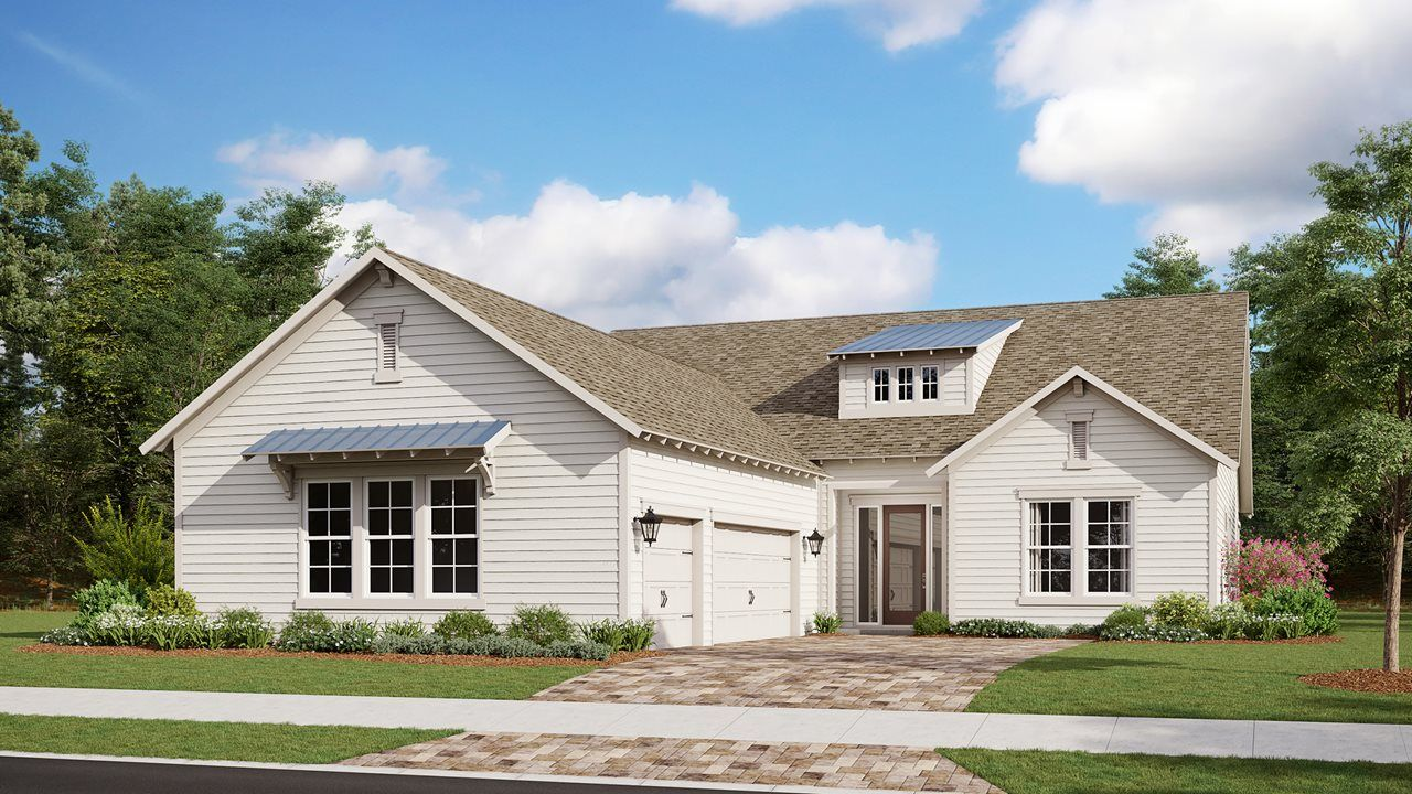 Exterior featured in the Tampa By Kolter Homes in Panama City, FL