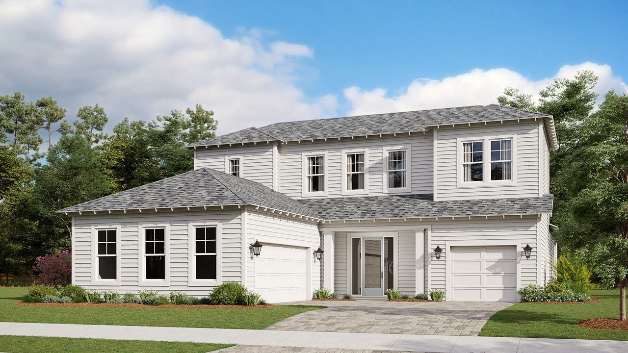 Exterior featured in the Venice By Kolter Homes in Panama City, FL