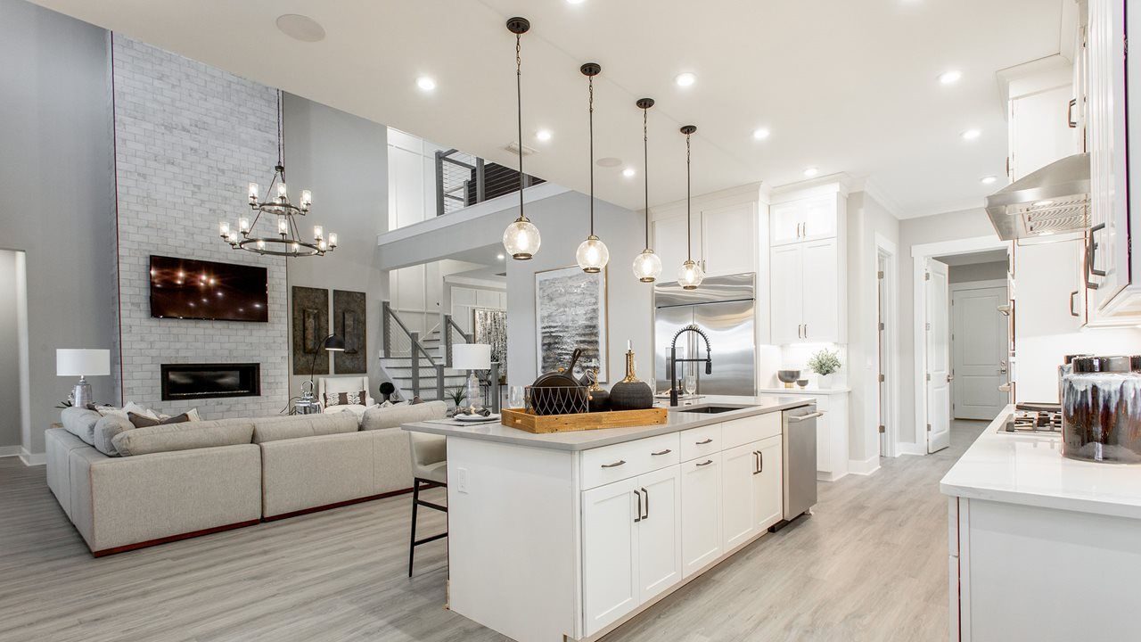 Kitchen featured in the Venice By Kolter Homes in Panama City, FL