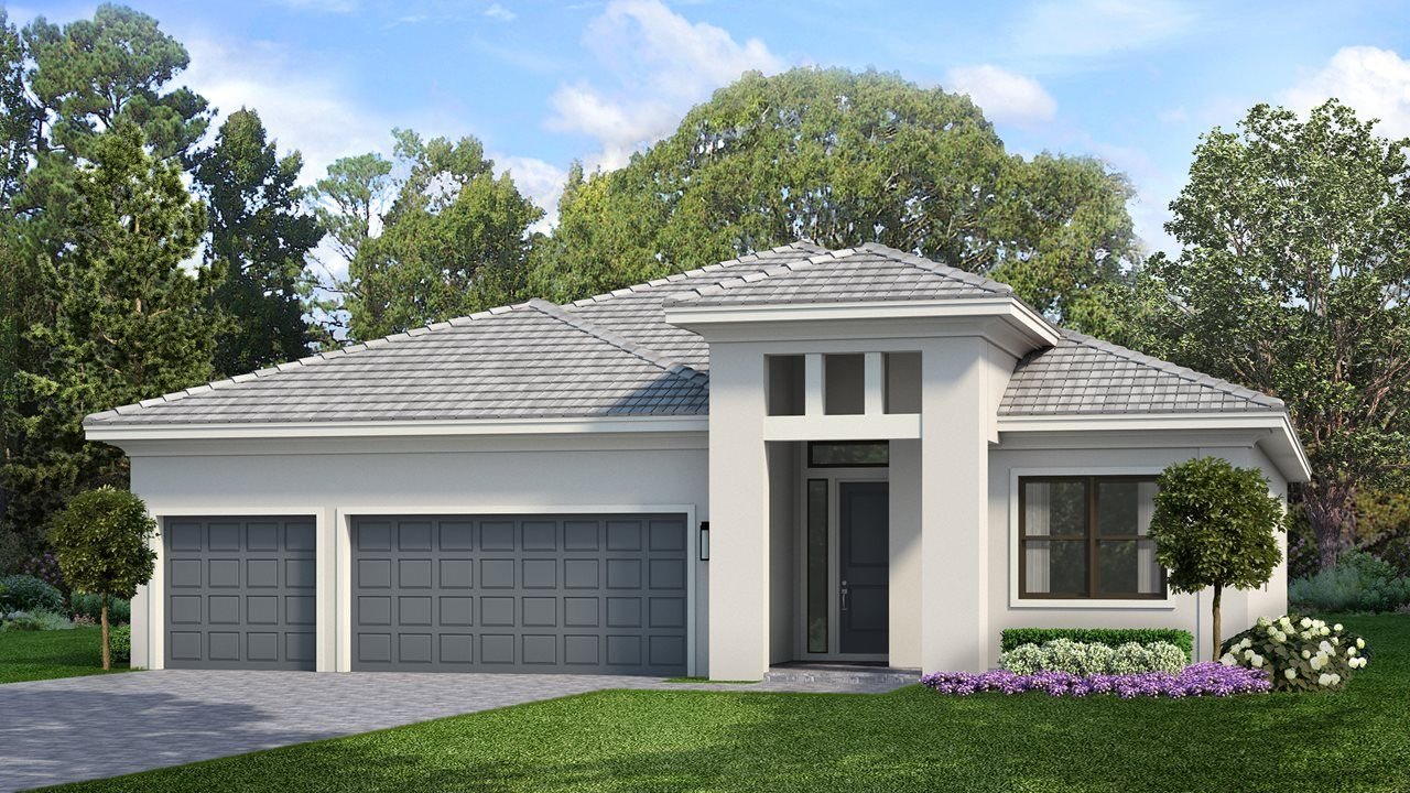 Exterior featured in the Alys By Kolter Homes in Sarasota-Bradenton, FL