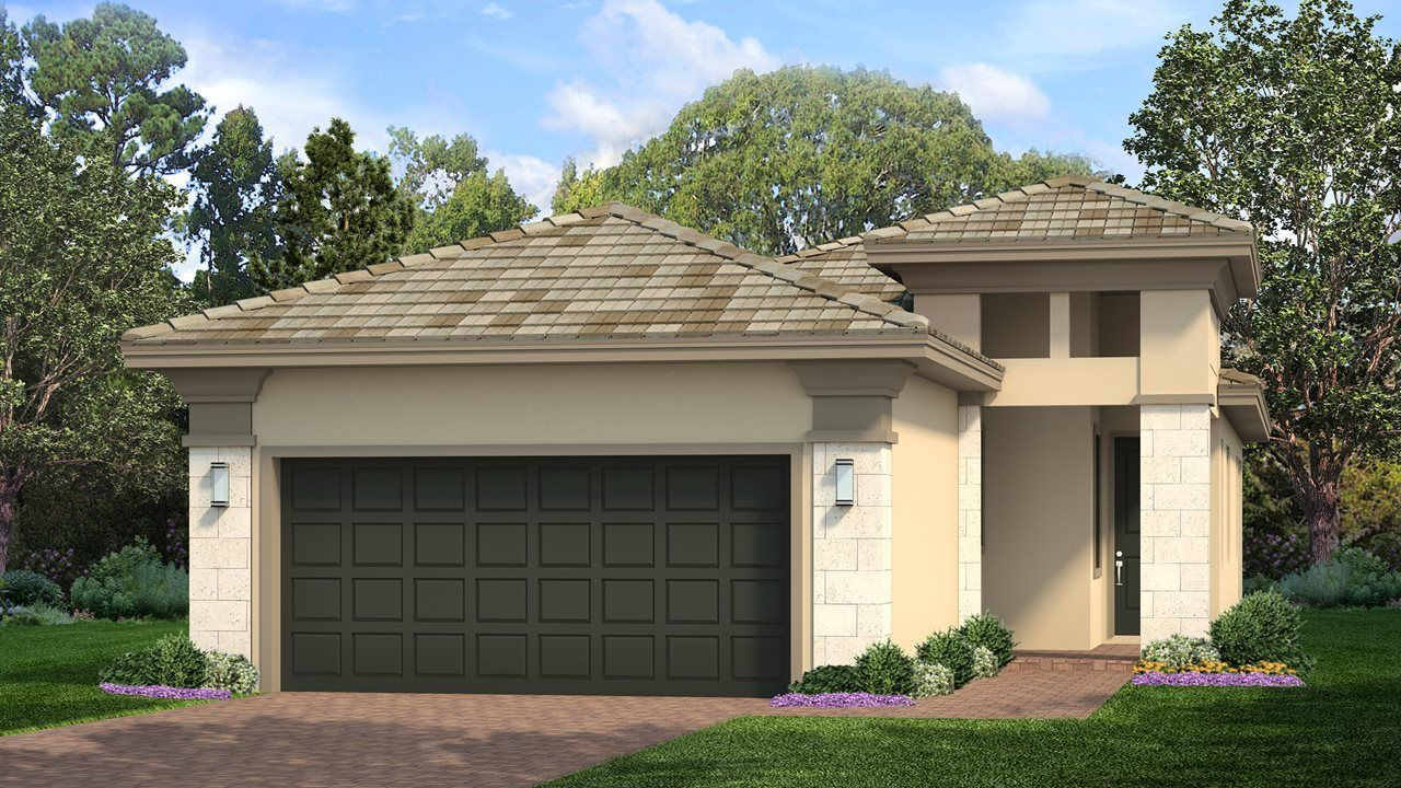 Exterior featured in the Casey By Kolter Homes in Sarasota-Bradenton, FL