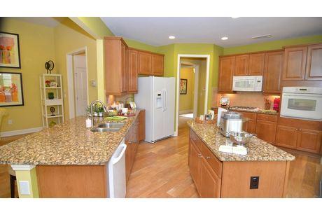 Kitchen-in-Maple-at-Cresswind at Lake Lanier-in-Gainesville